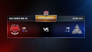 HellRaisers vs PlayBetter Week 2 Match 6 WGL RU Season I 2015-2016. Gold Series Group  Round