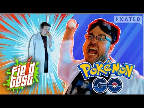 Pokemon Go: The Human Pokeball // Field Test #4   FXated  
