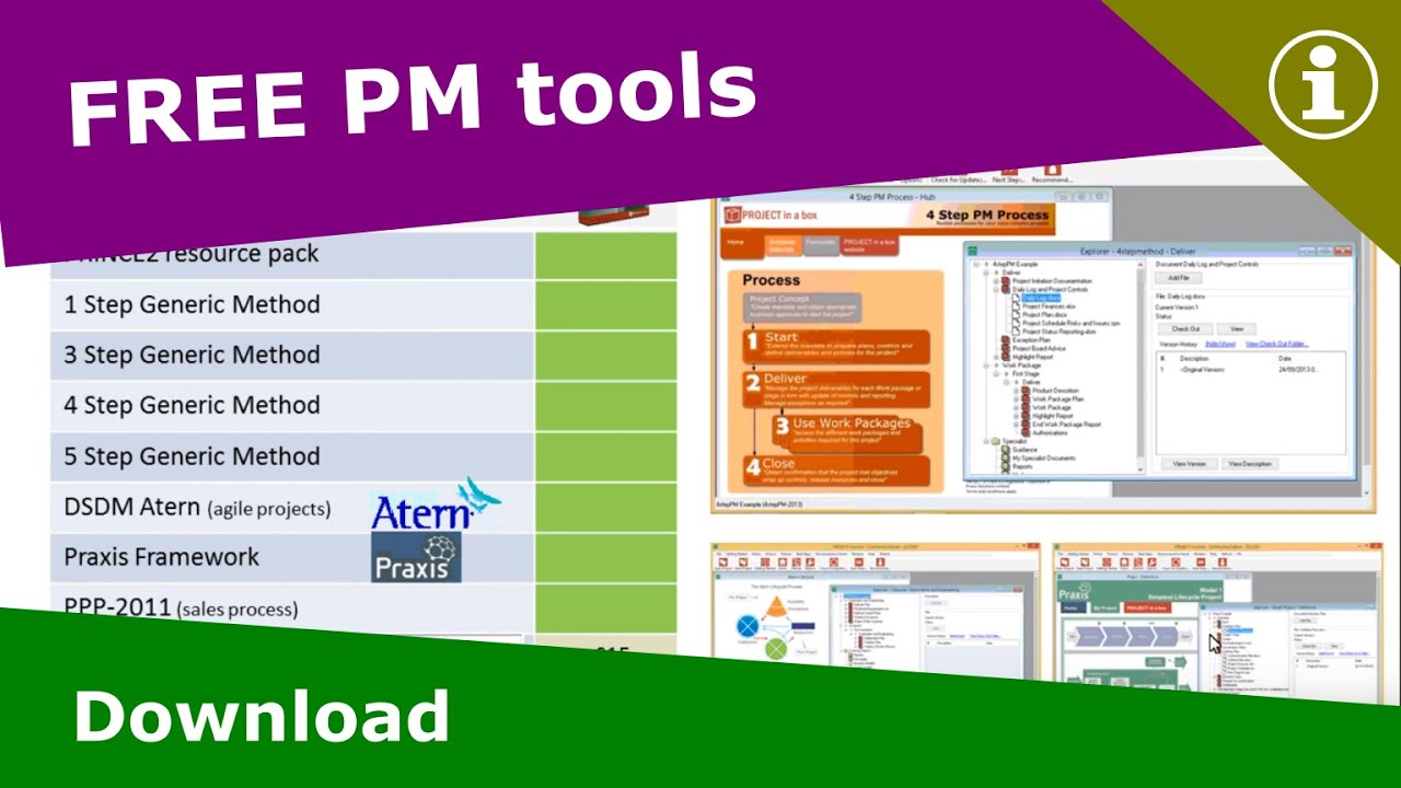 free project management download youtube