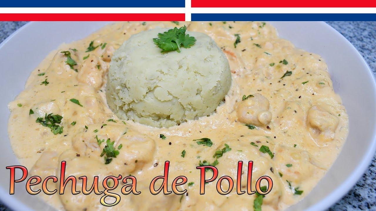 Download Receta Pechugas de Pollo en Salsa de Queso - Cocinando con Yolanda
