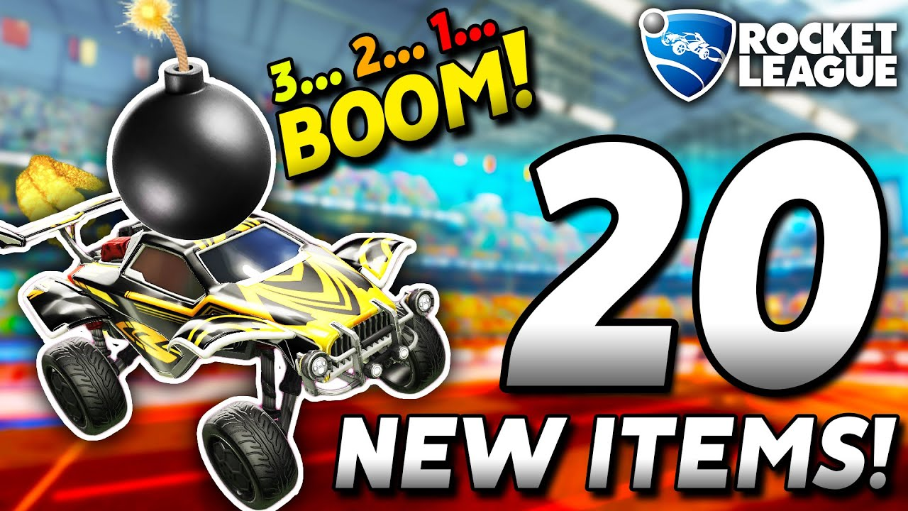 *NEW* ROCKET LEAGUE WITH 20 BRAND NEW POWERUPS IS AMAZING!