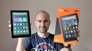 Amazon Fire HD 8 (2020) | Budget Tablet Unboxing & Tour