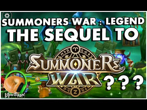 """SUMMONERS WAR """"LEGEND"""" : THE SEQUEL TO SUMMONERS WAR?!??! (first impressions)"""