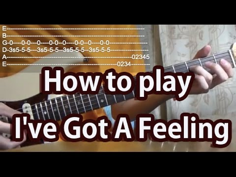 How To Play Ive Got A Feeling The Beatles Guitar Tutorial With Tabs