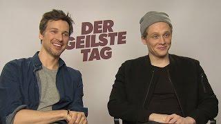 DER GEILSTE TAG | Das Interview mit MATTHIAS SCHWEIGHÖFER & FLORIAN DAVID FITZ