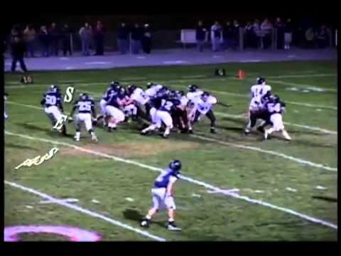 Matt Hill Salem High School 2011 Football Highlights