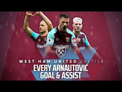 EVERY ARNAUTOVIĆ GOAL & ASSIST | 2017/18