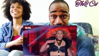 Lip Sync Battle ! Channing Tatum as Beyoncé ! Vs. Jenna Tatum as Ginuwine !! (Th&Ce' Reaction)