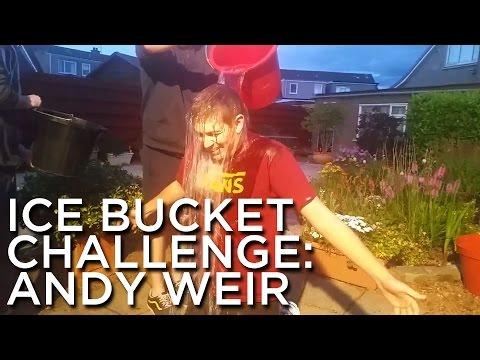 2014-08-30 'Ice Bucket Challenge: Andy Weir'