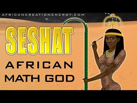 Seshat, the African Math Goddess, and the Stretching the Cord Ritual