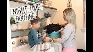 NIGHT TIME ROUTINE 2018   NEWBORN TODDLER AND 5 YEAR OLD