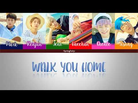NCT DREAM - Walk you home 같은 시간 같은 자리 (Han|Rom|Eng Color Coded Lyrics)