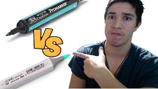 Copic VS Promarker - Je teste !