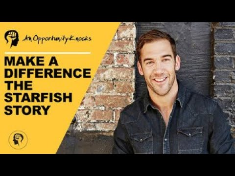 Make A Difference | The Starfish Story | Lewis Howes