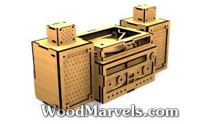Stereo Bank: 3d Assembly Animation (720hd)