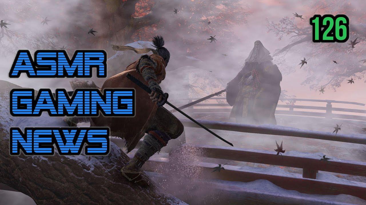 ASMR Gaming News (126) CoD MW4, Sekiro, Bloodborne 2, Persona 5 R, Soulja Boy, Nintendo Switch +