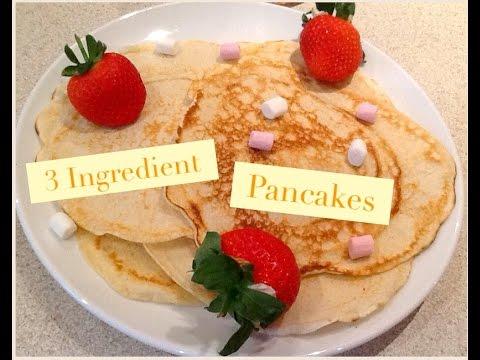 How To Make 3 Ingredient Pancakes! | SophieScatz |