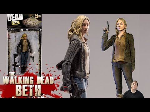 Walking Dead Series 9 Beth Action Figure McFarlane Toys