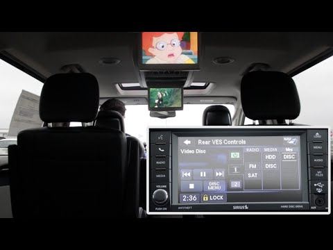 2015 Chrysler Town And Country Uconnect 430 Dvd System
