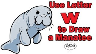 How to Draw a Manatee - Harptoons