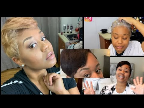 Download How To Color Relaxed Hair Tips On Hair Coloring Highlights ...