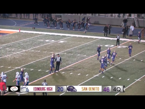 Edinburg High @ San Benito Football Bi-District playoff Game