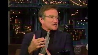 Robin Williams Letterman 11/11-2002
