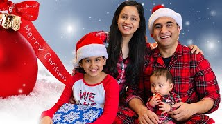Vardaan ka first Snow Storm & Merry Christmas | Vlog 23 | Lalit Shokeen Vlogs