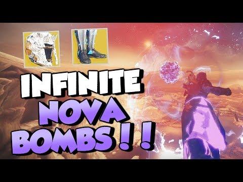 INFINITE Nova Bombs, Auto Reloading & More! Warlock Exotic Changes [Destiny 2 Forsaken]