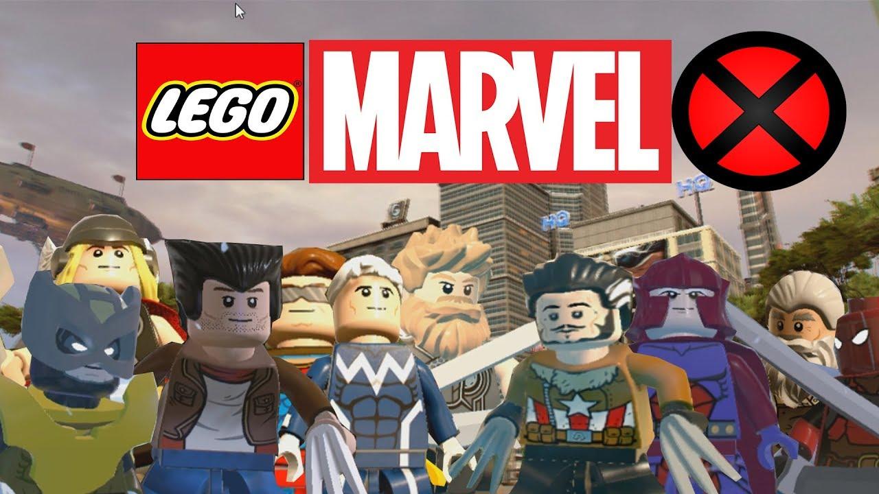 My custom characters in LEGO MARVEL 2 - YouTube