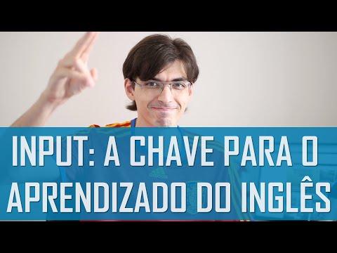 Input: a chave para o aprendizado do inglês | Mairo Vergara