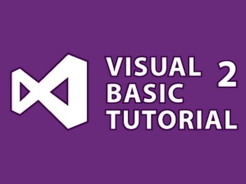 Visual Basic Tutorial 2