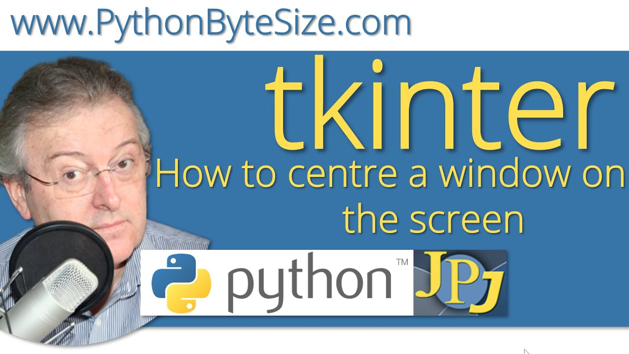 How to place a Python tkinter window in the center of the screen