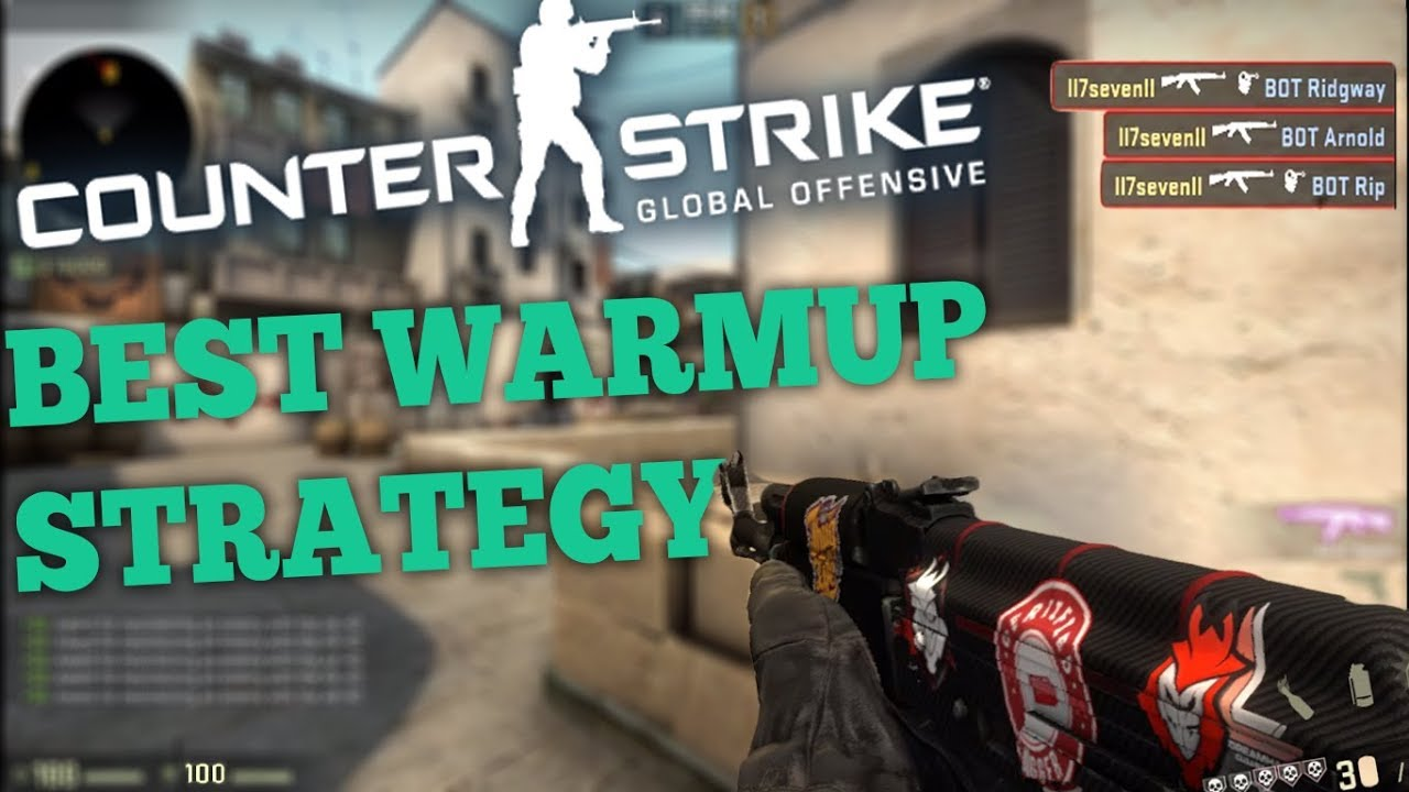 How To Warm Up In CSGO With Bots! (Best Way To Warm Up/CSGO Gameplay)
