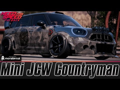 Need For Speed Payback Mini Jcw Countryman Drift Build Lv299 Stanced Cooper Can