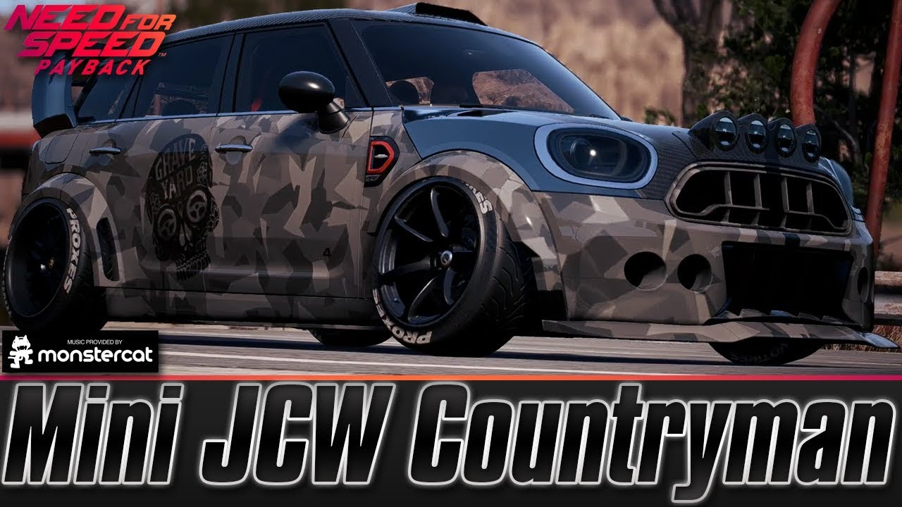 Need For Speed Payback Mini JCW Countryman Drift Build