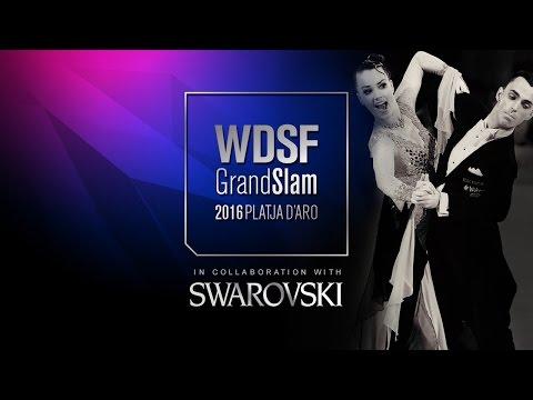 Varfolomeev - Remina, RUS | 2016 GS STD Platja D'Aro | R1 T | DanceSport Total