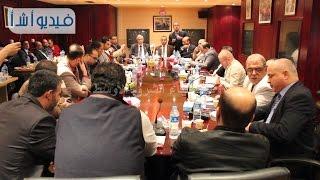 بالفيديو: وفد من الإعلاميين الفلسطينيين في ضيافة وكالة أنباء الشرق الأوسط