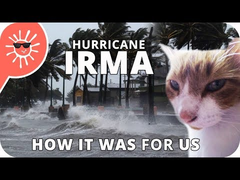 Hurricane Irma Dominican Republic - How It Went For Us  (in Jarabacoa)
