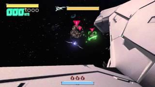Star Fox Zero playthrough pt22 - Area 3 Optional Run/Asteroid Field Returns!