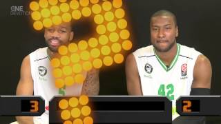 Who said Newcomer? Reggie Redding and Marcus Slaughter, Darussafaka Dogus Istanbul
