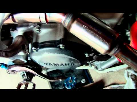 FMF Powerbomb & Q4 Unboxing, Install, Startup, & Sound - 08 YZ250F