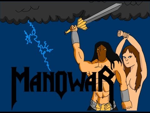 Клип Manowar - Let the Gods Decide