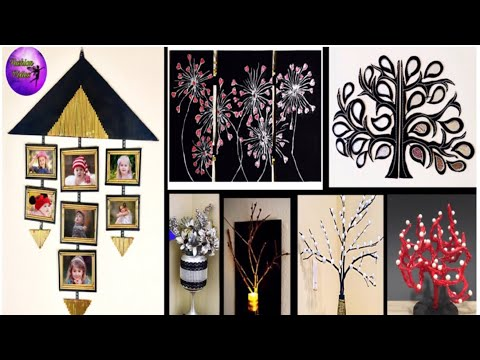 7 waste material crafts ideas | Room Decor | Do it yourself |Fashion pixies