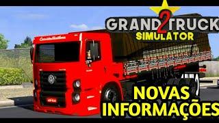 GRAND TRUCK SIMULATOR 2- NOVAS FOTOS E NOVÍDADES DO LANÇAMENTO| #quarentenagames