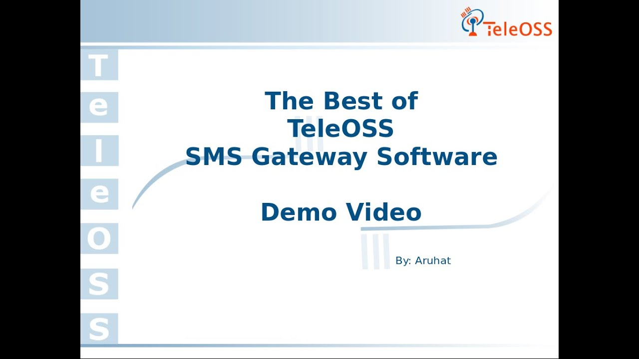 SMS Gateway Server, Software for Bulk SMS Aggregators - TeleOSS