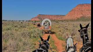 A Step Back in Time, The best views in the World Western Legends Wagon Trip. Kanab Utah