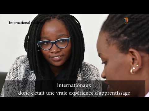 Strathmore International student stories - Melissa from DR Congo