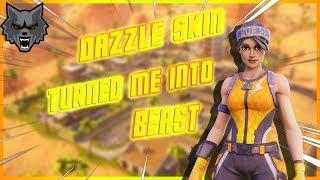 Dazzle skin Turned me into Beast... | (Fortnite Montage ,10 kills game, 1v1) | Burdix