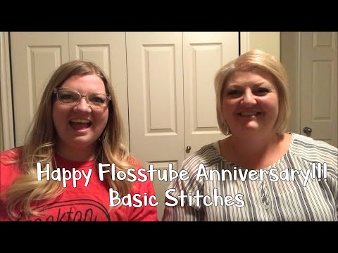 Happy Flosstube Anniversary with Basic Stitches!